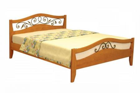 Алиса (ковка, деревянная кровать)