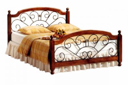 Прага 2 (ковка, деревянная кровать)