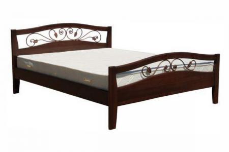 Юлия (ковка, деревянная кровать)