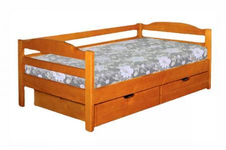 Детская (деревянная детская кровать)