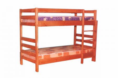 Дачная (деревянная детская двухъярусная кровать)