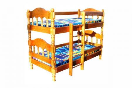 Королина (деревянная детская двухъярусная кровать)