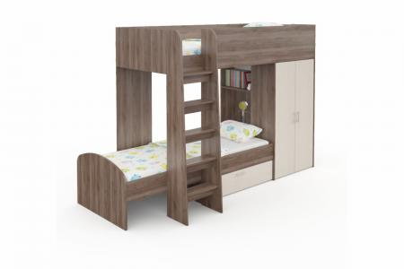 Д-911 (деревянная детская двухъярусная кровать)