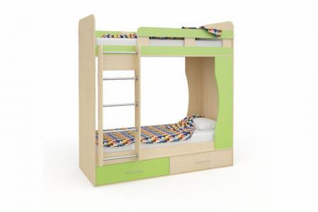 Д-902 (деревянная детская двухъярусная кровать)