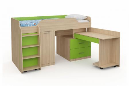 Д-904 (деревянная детская кровать)
