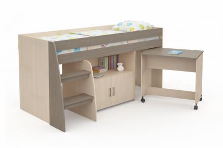 Д-919 (деревянная детская кровать-чердак)
