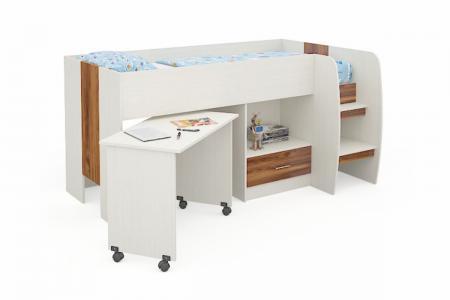 Д-903 (деревянная детская кровать-чердак)