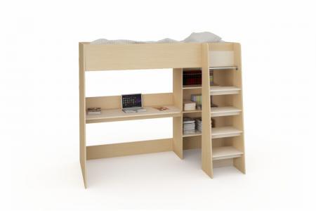 Д-917 (деревянная детская кровать-чердак)