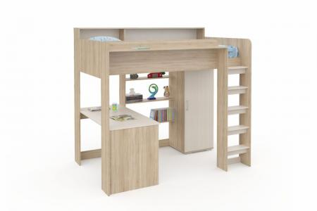 Д-913 (деревянная детская кровать-чердак)