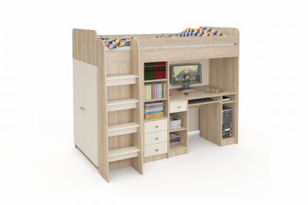 Д-905 (деревянная детская кровать-чердак)