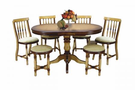 Саша (деревянная столовая группа)