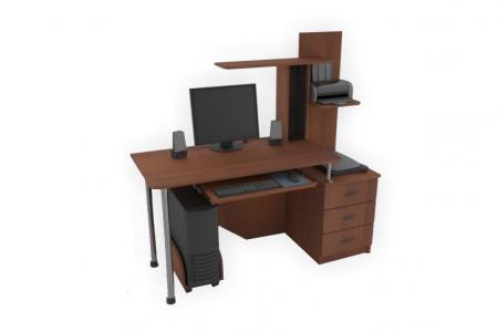 КС ПОИНТ С-5 (компьютерный стол, ЛДСП)