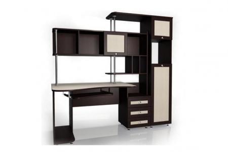Мебелайн-17 (компьютерный стол, ЛДСП)