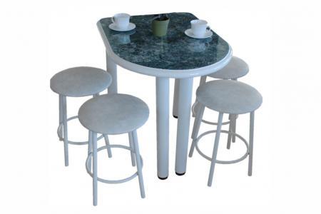 Беседа-мини (кухонный стол, пластик / МДФ)