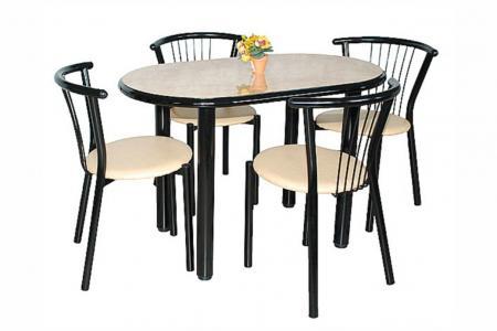 Визит (кухонный стол, пластик / МДФ)
