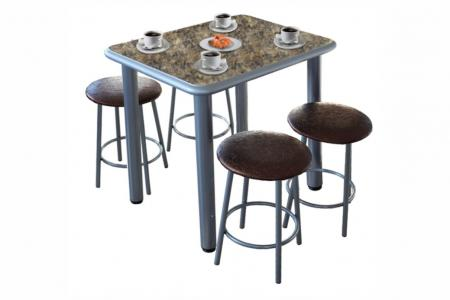 Премьера-мини (кухонный стол, МДФ / пластик)