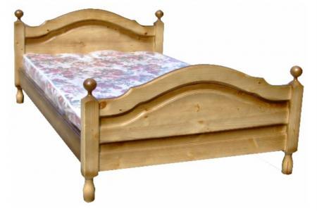 Филенчетая (деревянная кровать)