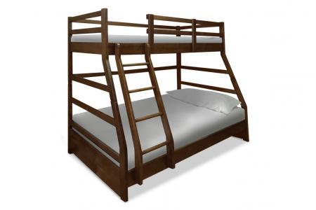 Семья (деревянная детская двухъярусная кровать)