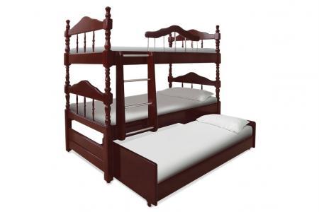 3х-ярусная (деревянная детская трехъярусная кровать)