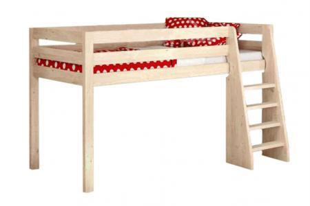 Маяк (деревянная детская кровать-чердак)